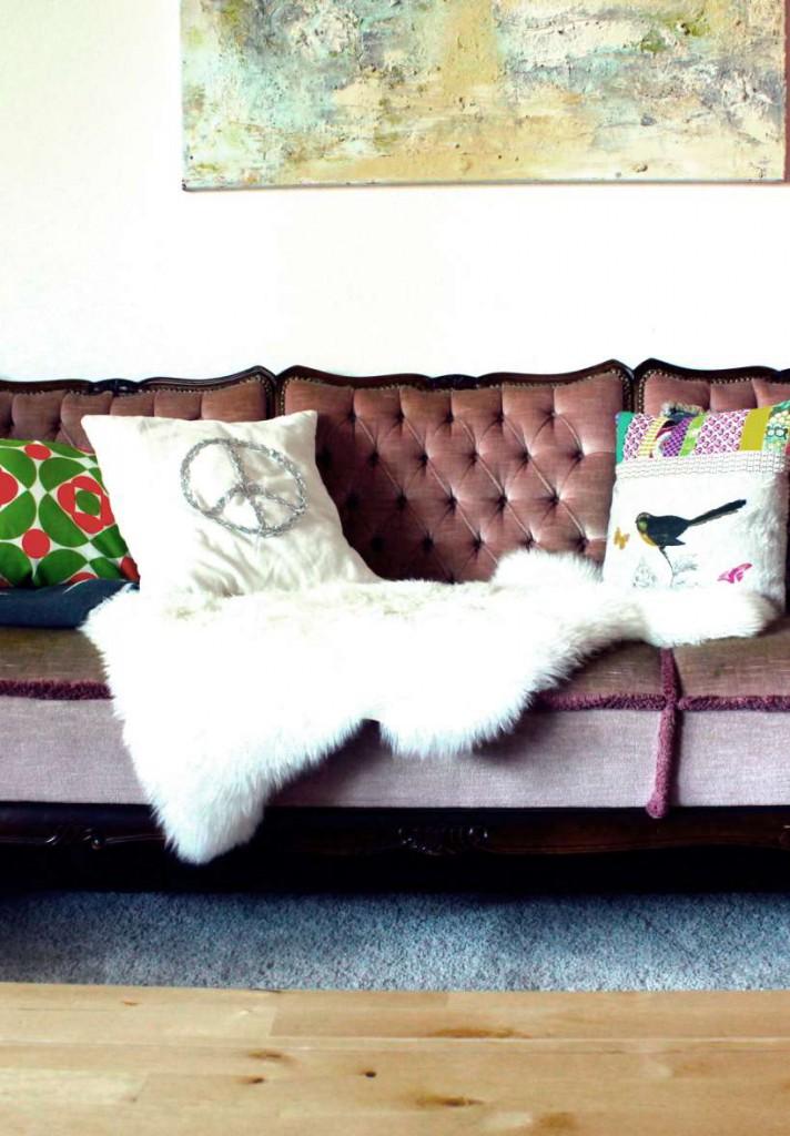 Omas Sofa Ausschnitt