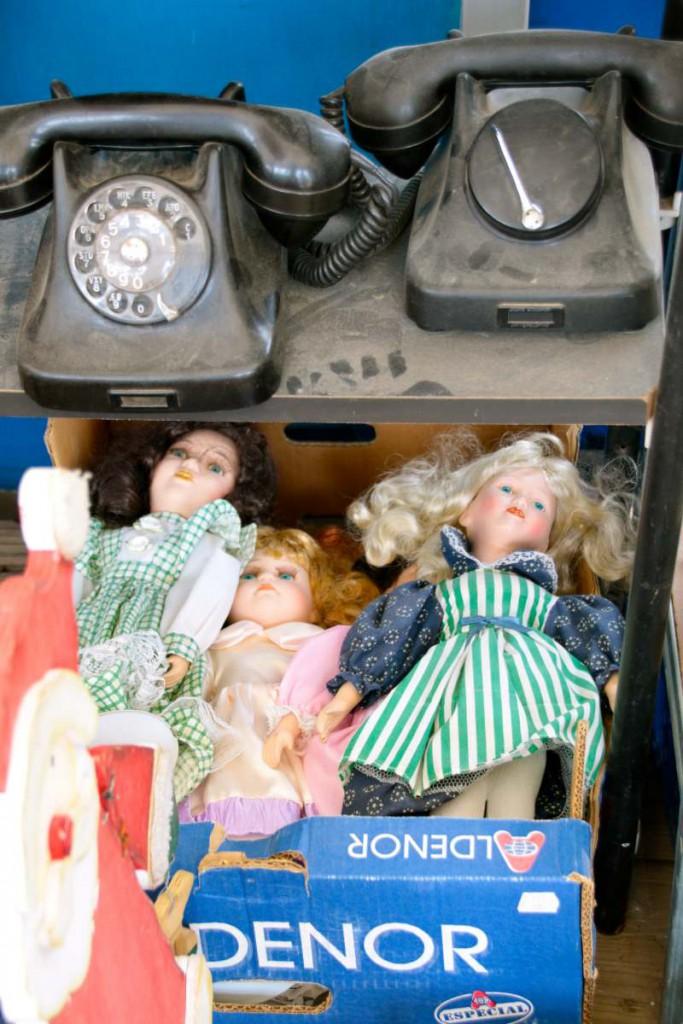 Puppen + Telefone